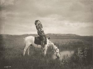 'Un oasis en las Badlands' (1905)   Edward S. Curtis   Library of Congress   Washington, D.C.   'La ilusión del Lejano Oeste'   Museo Thyssen-Bornemisza   Madrid   Otoño 2015-2016