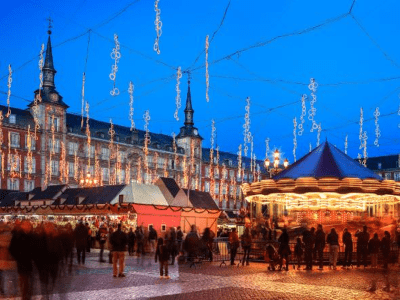 Es Madrid Es Navidad   Mercadillo Navideño Plaza Mayor   Madrid Navidad 2015
