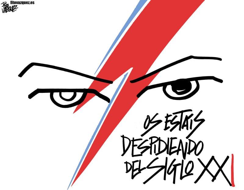 Bowie: Nos vemos en el futuro    © Fito Vázquez 2016