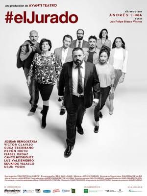 'El Jurado' de Luis Felipe Blasco Vilches | Producción Avanti Teatro | Dirección Andrés Lima | Estreno Madrid abril 2016 | Cartel