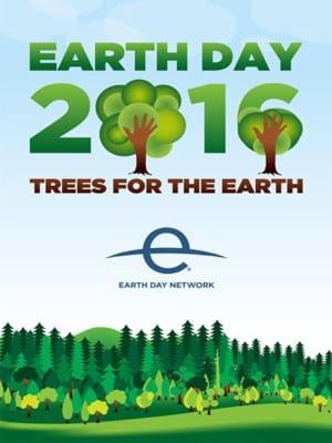 Día de la Madre Tierra 2016 | Árboles para la Tierra | Earth Day 2016 | Trees for The Eearth | 22 de abril | Cartel