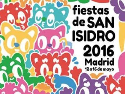 Fiestas de San Isidro 2016 | Madrid | Del 12 al 16 de mayo de 2016 | Cartel