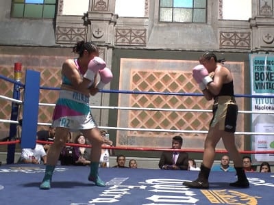 'La Primavera Rosa en México'   Mario de la Torre   Estreno Madrid abril 2016   Boxeadoras