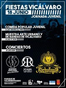 Fiestas Vicálvaro 2016 | Del 17 de junio al 15 de agosto de 2016 | Jornada Juvenil | 18/06/2016