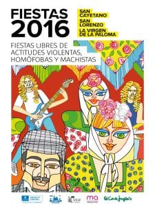 Fiestas San Cayetano, San Lorenzo y La Virgen de la Paloma 2016 | Distrito Centro - Madrid | 1 al 15 de agosto de 2016 | Cartel