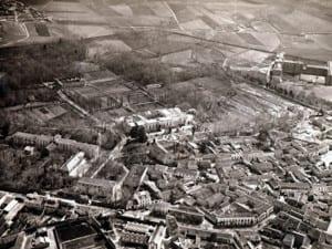 Vista aérea de Carabanchel Bajo | Madrid | 1935