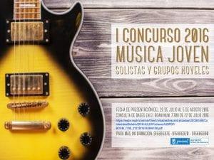 Fiestas de Aravaca 2016   Moncloa-Aravaca   Madrid   8 al 11 de septiembre de 2016   1er Concurso de Música Joven 2016