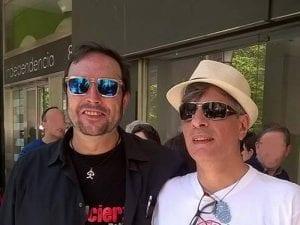 Ángel Petisme y Josema Carrasco | Autores de 'Mapa de besos' | Amargord Ediciones | Madrid 2016