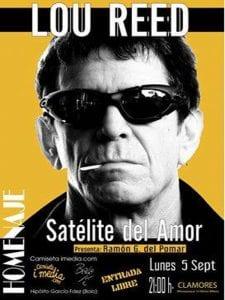 Satélite del Amor   Homenaje a Lou Reed   'Bolo' García y Camiseta i media   Sala Clamores   Madrid   05/09/2016