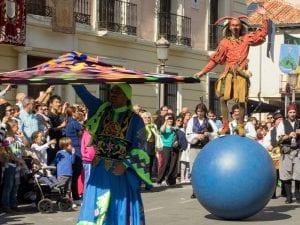 18 Mercado Cervantino | Alcalá de Henares | Comunidad de Madrid | 07-12/10/2016 | Pasacalles renacentista
