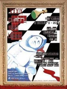 39 Poetry Slam Bilbao | 05/10/2016 | Luz Gas - Pelota 6 - Casco Viejo - Bilbao | Cartel José Manuel Ezkerra