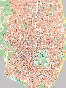 BiciMAD   Servicio público de bicicletas de Madrid   EMT - Ayuntamiento de Madrid   Mapa 165 estaciones