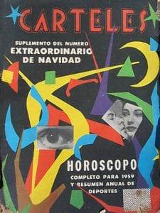 En esto llegó Fidel, se acabó la diversión   Portada de la revista Carteles   Diciembre 1958   Cuba