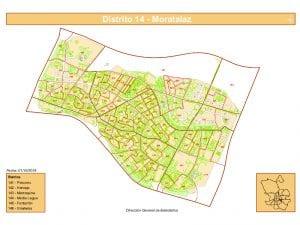 Plano   Distrito Moratalaz   Madrid