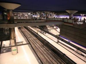 Cierre línea 8 Metro de Madrid | Nuevos Ministerios - Aeropuerto T4 | 26/01 al 18/04/2017 | Estación Nuevos Ministerios