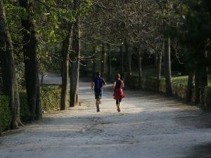 El parque del Retiro es uno de los sitios imprescindibles para correr en Madrid