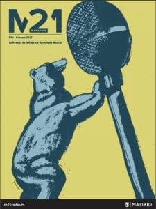'M21 Magazine'   La revista de la Emisora Escuela de Madrid   Nº 1   Febrero 2017   M21Radio   Ayuntamiento de Madrid   Portada