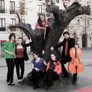 'Música con pasaporte'   Nuevo ciclo de 4 conciertos en CentroCentro Cibeles   Madrid   Marzo - Junio 2017   Rubik Ensemble