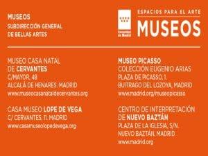 Día y Noche de los Libros en los museos de la Comunidad de Madrid | 21 al 23 de abril de 2017 | Espacios para el Arte