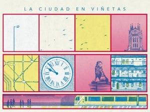 'La ciudad en viñetas'   CentroCentro Cibeles de Cultura y Ciudadanía   Palacio de Cibeles   Madrid   Roberto Massó   06/04 al 02/07/2017