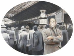 'Mes de las Letras'   Conde Duque   Madrid   5-27 abril 2017   'El viaje y el escritor. Europa 1914-1939'   Corpus Barga   Damián Flores   Foto Pablo Linés