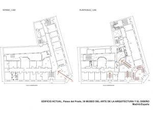 Okupación de un edificio en la calle Gobernador | Cortes - Centro - Madrid | 06/05/2017 | Planos museo