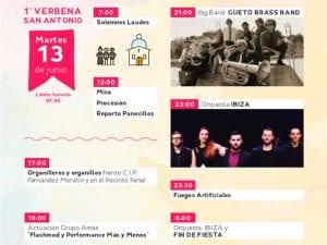 Fiestas de San Antonio de la Florida 2017 | Parque de la Bombilla | Moncloa-Aravaca | Madrid | 09 al 13/06/2017 | Programa martes 13 de junio | 1ª Verbena de San Antonio