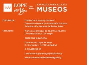 'Mujeres y criados' | Teatreo | Casa Museo Lope de Vega | 17/06 y 01/07/2017 | Barrio de las Letras | Madrid | Espacios para el Arte | Museos