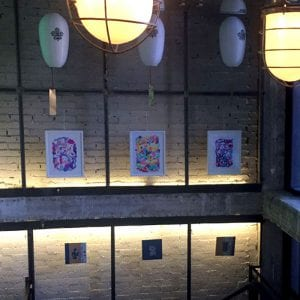 Street Art Food Fest 2017 | Mercado San Ildefonso | Barrio de Malasaña | Centro - Madrid | 03 - 27/07/2017 | Obras 2016 expuestas en galería vertical