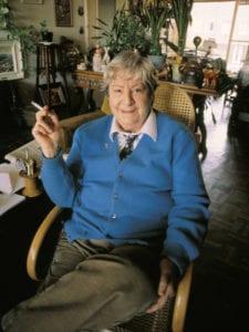 Gloria Fuertes   Poeta y escritora   Madrid, 1917-1998   Años 80