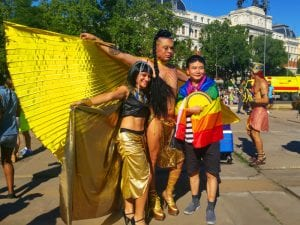 World Pride Madrid 2017   Manifestación y desfile de carrozas Orgullo Gay 2017   01/07/2017     Participantes   Foto Pablo Rentería/Cicerone Plus
