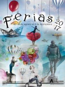 Ferias de Alcalá de Henares 2017 | 26/08 - 03/09/2017 | Alcalá de Henares | Comunidad de Madrid | Cartel