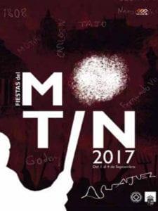 Fiestas del Motín 2017   Aranjuez   Comunidad de Madrid   01-04/09/2017   Cartel