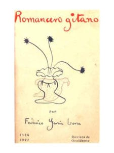 'Romancero-gitano' (1924-1927) | Federico García Lorca | Revista de Occidente | Madrid 1928 | Portada