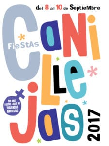 Fiestas de Canillejas 2017 | San Blas-Canillejas | Madrid | 08-10/09/2017 | Cartel