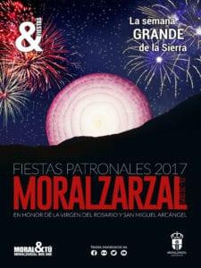 Fiestas Patronales de Moralzarzal 2017   La Semana Grande de la Sierra   21-26/09/2017   Moralzarzal   Comunidad de Madrid   Cartel