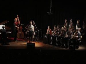 Conciertos noviembre 2017 en Bogui Jazz   Chueca - Centro - Madrid   Sheila Blanco & Mad Sax Big Band   18/11/2017