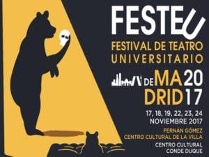 Conde Duque y Fernán Gómez acogen FESTEU 2017 | 17-24/11/2017 | Madrid | Cartel