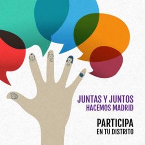 Plenos Foros Locales de Madrid | Participa en tu distrito | Del 23/02 al 24/03/2018 | Juntas y juntos hacemos Madrid