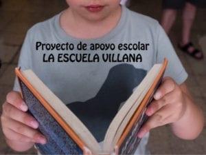 Proyecto de apoyo escolar La Escuelita de la Villana   Centro Social La Villana de Vallecas   Puente de Vallecas   Madrid   Cartel