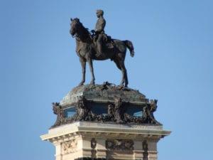 Monumento a Alfonso XII | 1922 | José Grases Riera | Estanque grande del parque del Retiro | Madrid | Estatua ecuestre de Alfonso XII | Mariano Benlliure