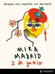 'Mira Madrid' | Día Internacional del Turismo Responsable 2018 | Sábado 2 de junio | Ayuntamiento de Madrid | Cartel