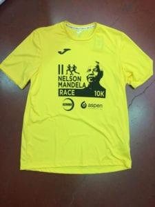 2ª Nelson Mandela Race | Centenario de 'Madiba' | 10 km | 22/07/2018 | Madrid | Camiseta