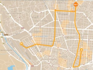 2ª Nelson Mandela Race | Centenario de 'Madiba' | 10 km | 22/07/2018 | Madrid | Recorrido