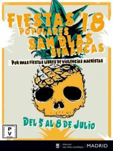 Fiestas de San Blas 2018 | San Blas-Canillejas | Madrid | 05-08/07/2018 | Cartel