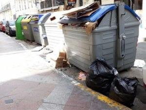 Fiestas de Centro dejan más de 161.000 kilos de basura