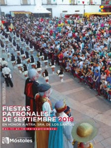 Fiestas Patronales de Móstoles 2018 en honor a Nuestra Señora de los Santos | 11-16/09/2018 | Cartel