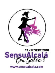 SensuAlcalá con Salsa!   13-17/09/2018   Alcalá de Henares   Comunidad de Madrid   Logo
