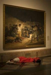 Sostener el infinito en la palma de la mano | Eugenio Ampudia | Sala Alcala 31 | Comunidad de Madrid | 13/09-04/11/2018 | 'Dónde dormir 1 (Goya)' (2008)