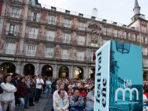 Justas Poéticas Femeninas en la Plaza Mayor de Madrid | 21/10/2018 | Ayuntamiento de Madrid - Festival Eñe | Foto Justas Poéticas 2017